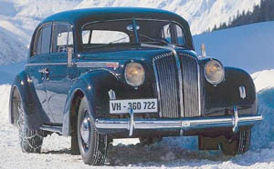 Opel Admiral (1937 - 1940)